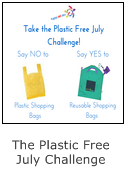 plastic free july challenge - simple ideas on how to reduce plastic in your every day life