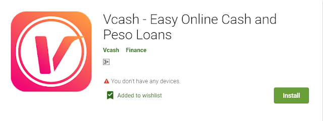Vcash - Easy Online Cash and Peso Loans (Legit or Not?)