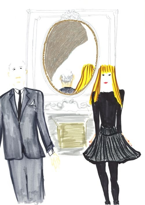 3- Victoire & Christian in the Dior Grand Salon