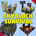 skyblock survival maps for mcpe icon