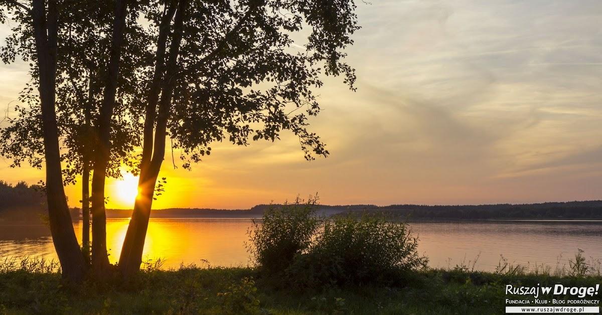 Kaszubski Zachód Słońca nad Jeziorem Wielewskim