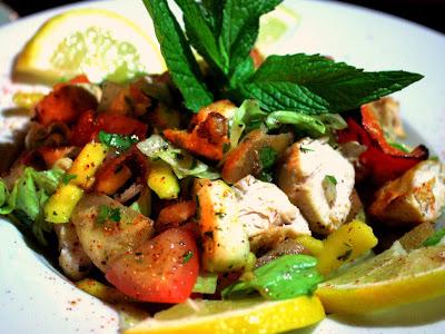 Salad at Mamounia Lounge