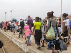 Rapatriement  volontaire des refugiés Angolais vivant en RDC le 19/08/2014 à Kinshasa. Radio Okapi/Ph. John Bompengo