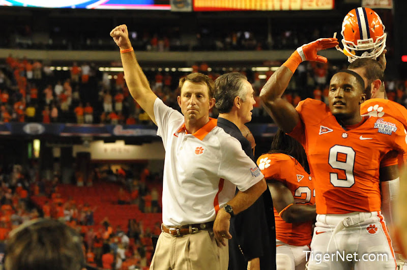 Clemson vs Auburn - Celebration Photos - 2012, Auburn, Dabo Swinney, Football, Xavier Brewer