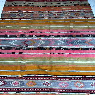 Wool Flat Weave Area Rug