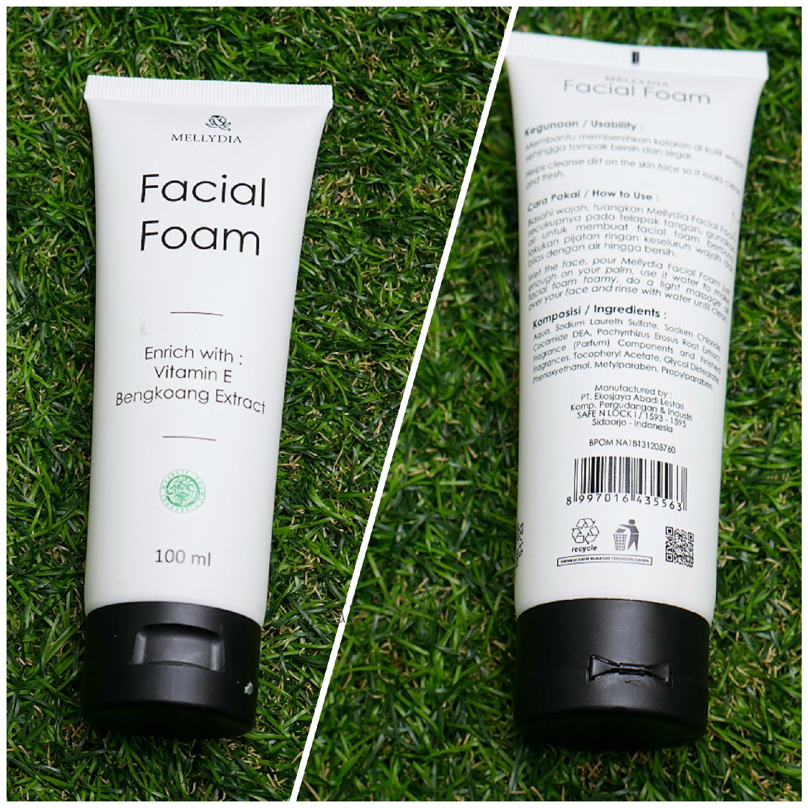 review-mellydia-skincare-facial-foam
