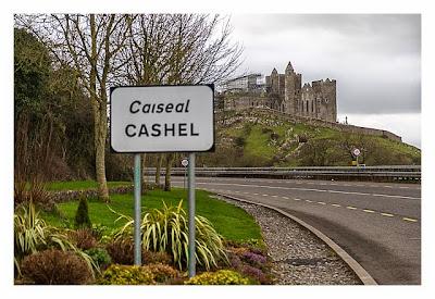 Rock of Cashel - Der letzte Blick zum Felsen