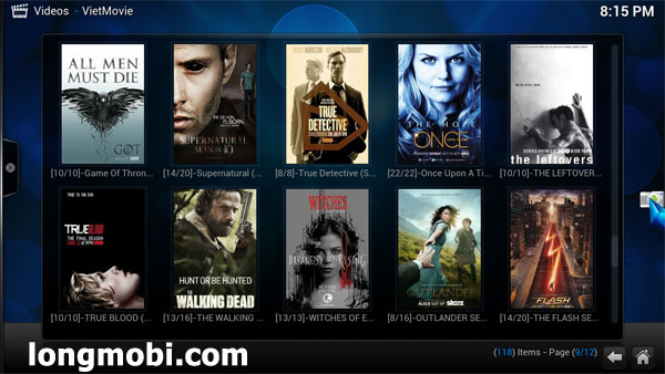 Xem truyền hình mỹ HD