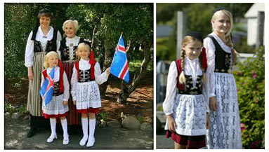 Iceland Costumes