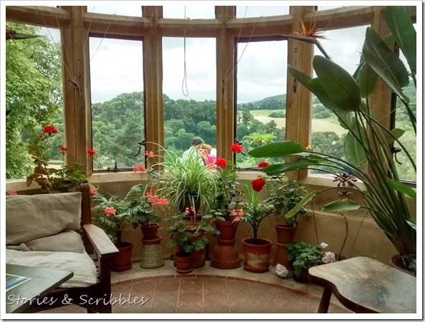 Dunster castle - The Conservatory