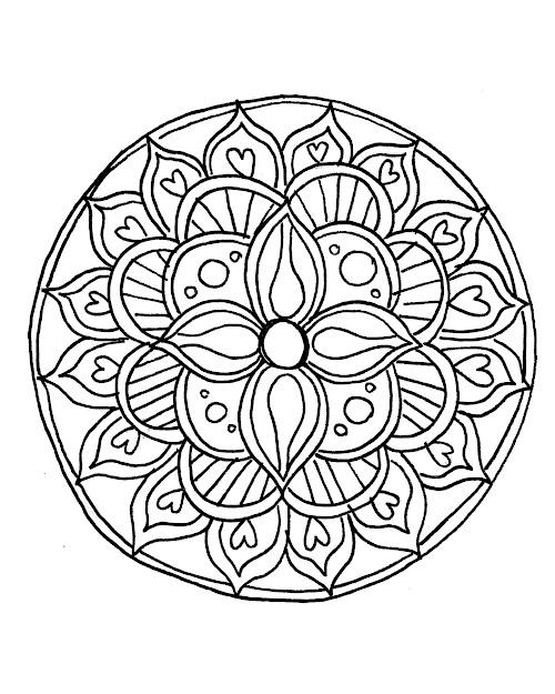 Mandalacolor Mandala Coloring Pages