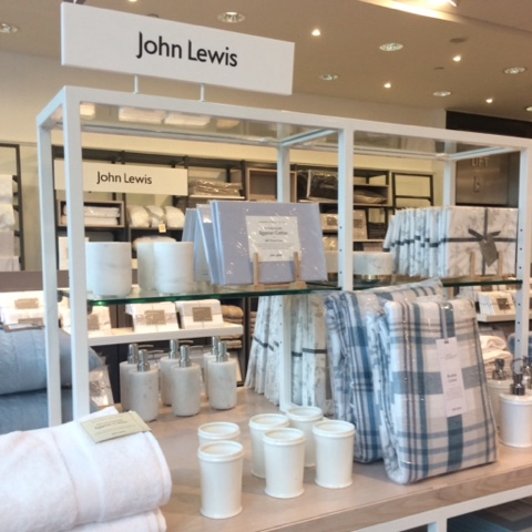 John Lewis Home Display at Arnotts