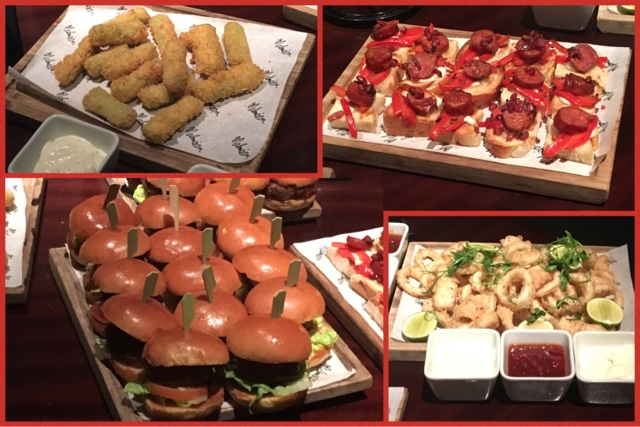 selection of nibbles served at malmaison leeds