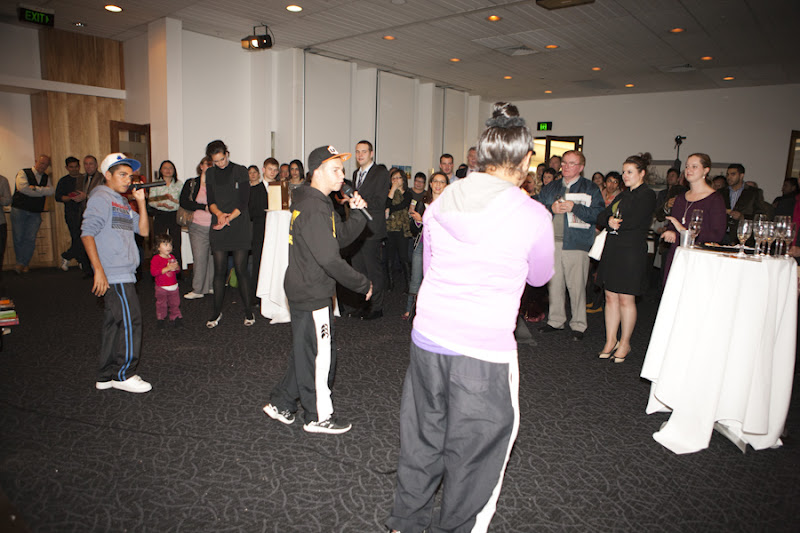 Sydney Launch - Colli crew rap dance, the child was dancing too!
