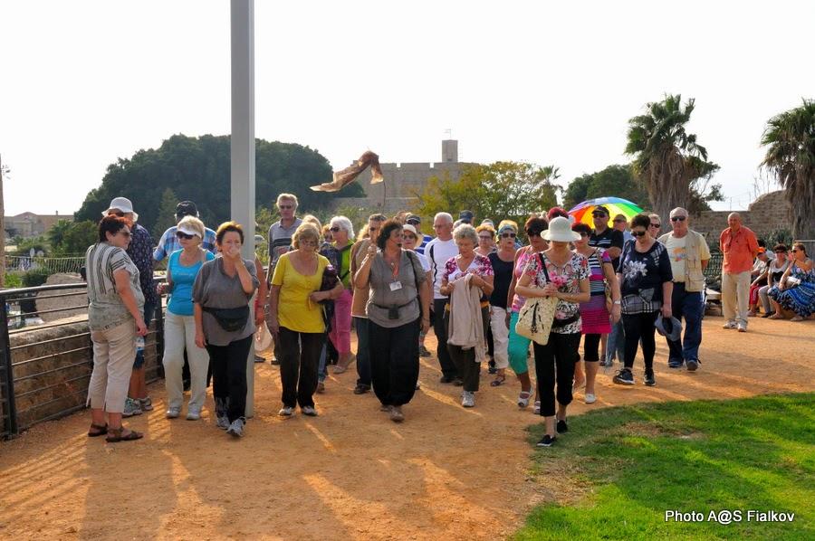 Прогулка по крепостной стене Акко. Экскурсия по Западной Галилее. Гид в Израиле Светлана Фиалкова.
