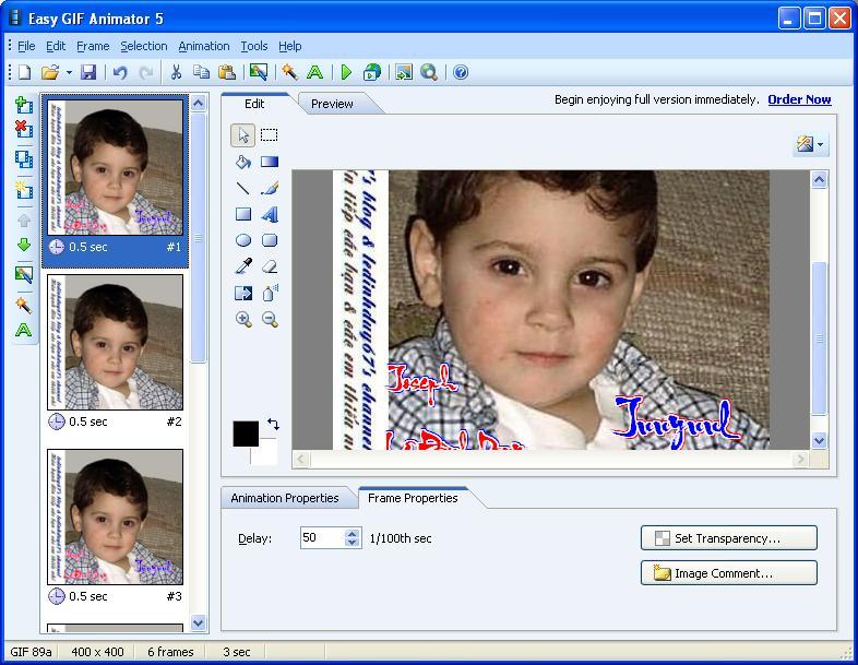 Easy GIF Animator 5.1 Pro Full - Phần mềm làm ảnh động - Image 06
