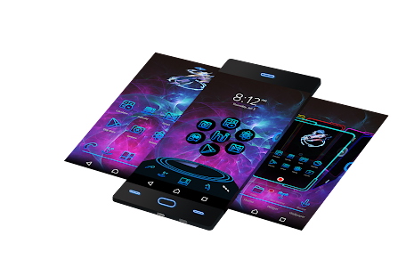3D Themes for Android - náhled