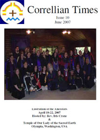 Cover of Correllian Times Emagazine's Book Issue 10 June 2007