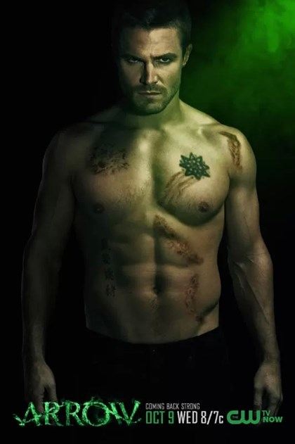 The Men of Arrow Season 2 Shirtless