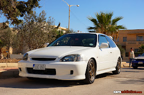 White Civic