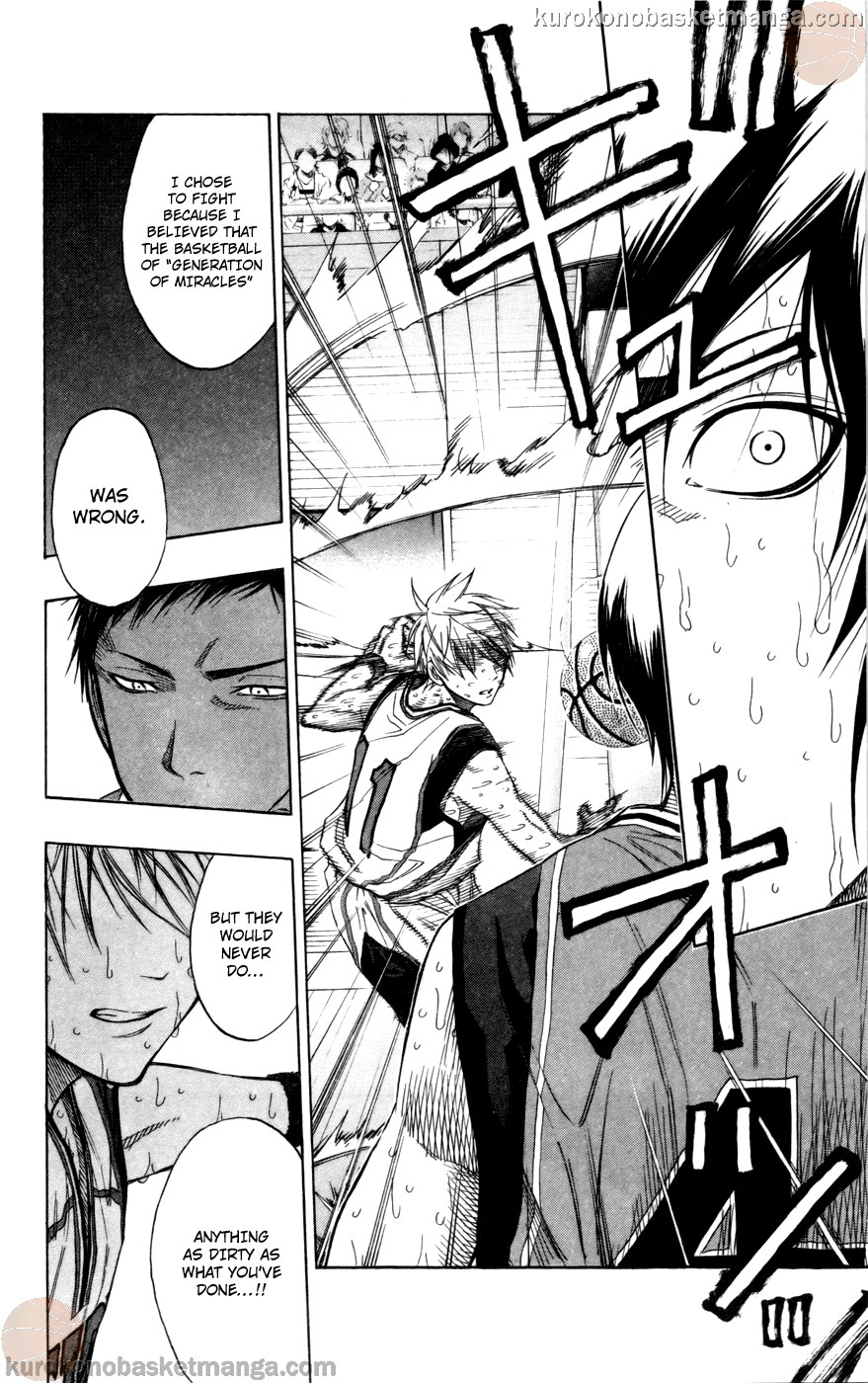 Kuroko no Basket Manga Chapter 107 - Image 10