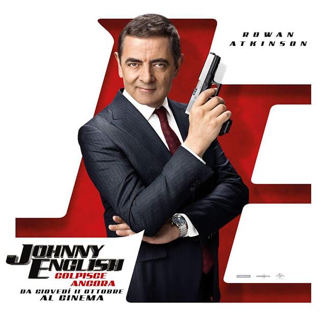Johnny English Colpisce Ancora Ecco I Nuovi Poster