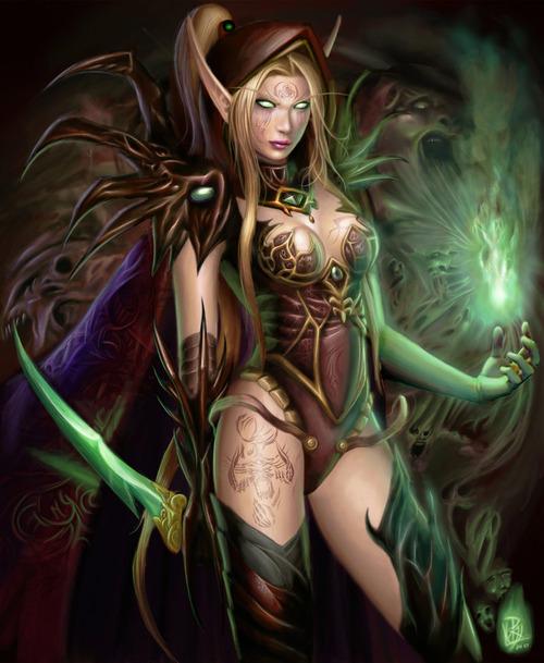 Beautiful, Elven Girls