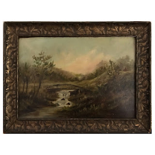Early 20th C. Oil Landscape Painting
