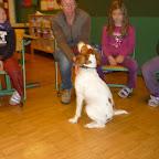 Hundebesuch in der 2. Klasse