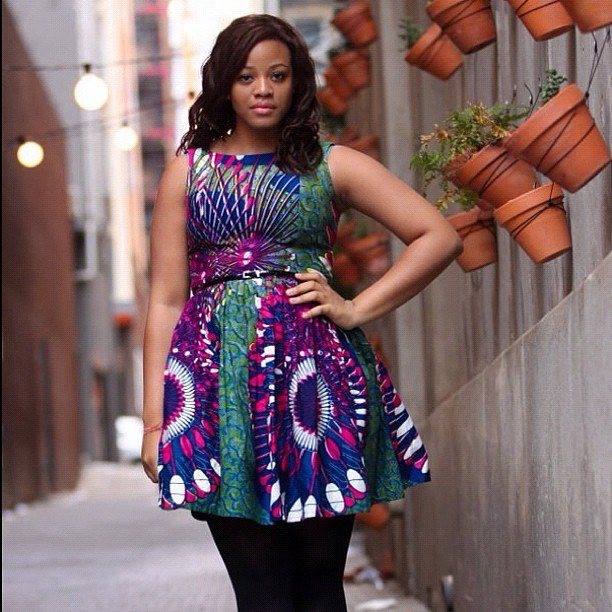 THE LATEST KITENGE DRESSES_AFRICAN KENYA DESIGNS 2019 4