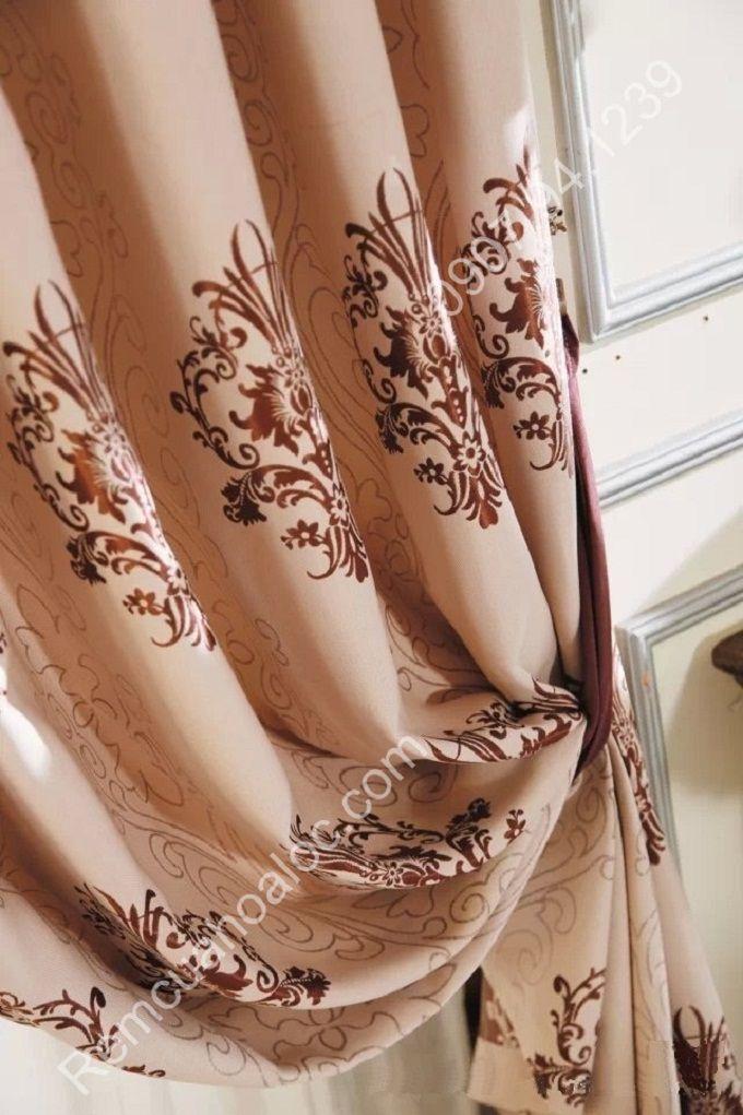 Rèm cửa sổ đẹp hà nội cao cấp hoa châu âu  10