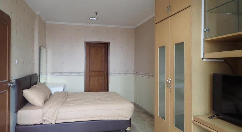 bedroom Hayam Wuruk Apartment