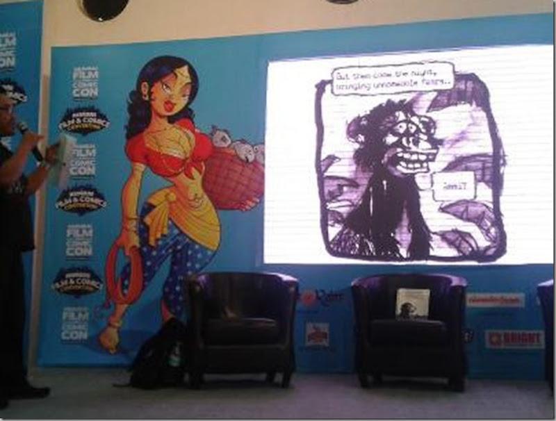 SC Comic con 2012