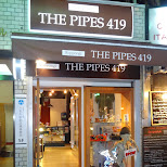 the pipes 419 in Tokyo, Tokyo, Japan