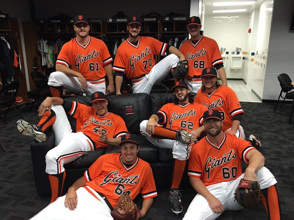 buy popular 37193 fb9cf The Ultimate Baseball Look: 2016 San Francisco Giants