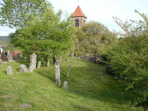 Le cimetière de Saint-Arcons-d'Allier
