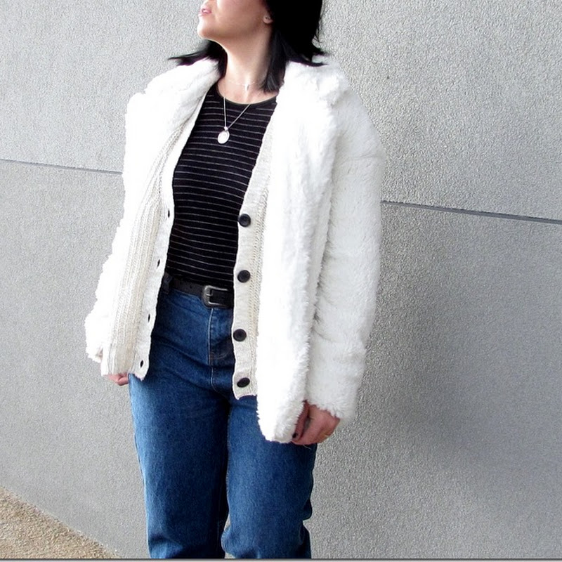 Mum jeans outfit