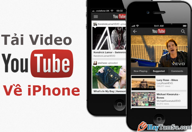 Tải video YouTube về iPhone