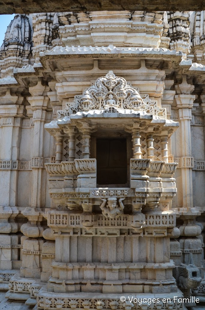 Ranakpur, détail niche