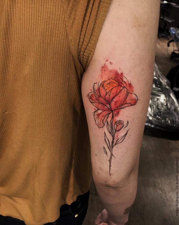 Esta flor de fogo