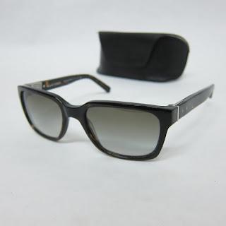 Black Fleece Wayfarer-Style Sunglasses