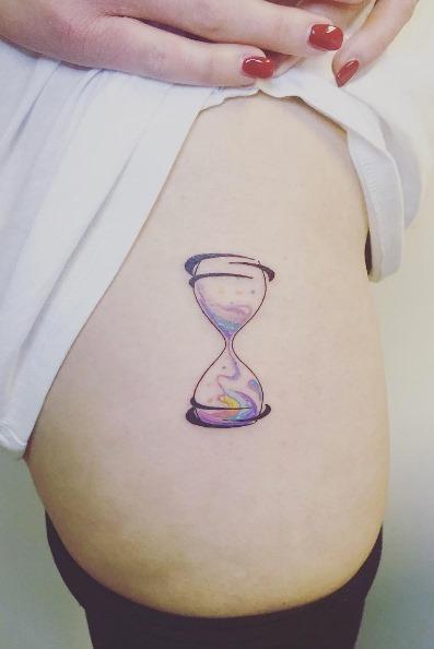 este_ampulheta_tatuagem