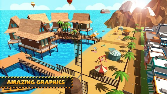 paradise island craft build construct fishing android apps on google play. Black Bedroom Furniture Sets. Home Design Ideas