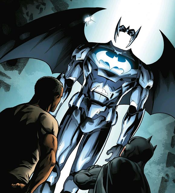 Luke Fox Batwing Wallpaper: SpiderMitch's Comix Reviews: DC New52