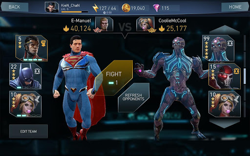 Injustice 2 Spel (APK) gratis nedladdning för Android/PC/Windows screenshot