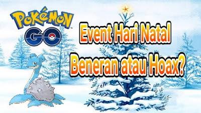 jumlah pemain Pokemon Go kembali meningkat Event Hari Natal di Pokemon Go, Beneran atau Hoax?