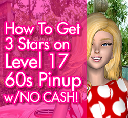 Pinup style me girl level 17 without cash items i style me girl