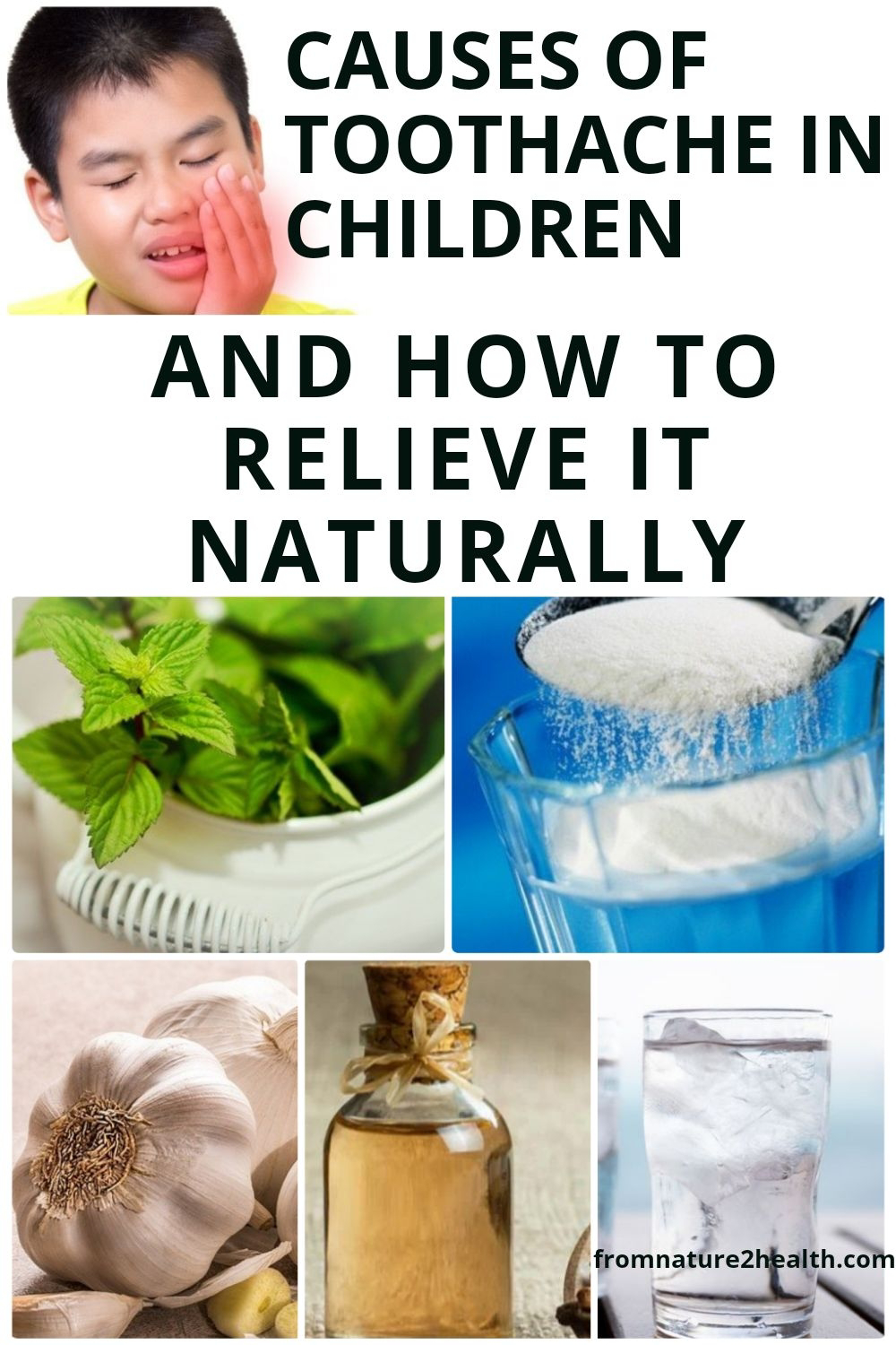 Causes of Toothache in Children and How to Relieve It Naturally