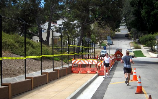 Silver Lake Reservoir Pathway Takes A Step Toward