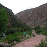 Kadzi Say (2200 m) : l'emplacement du camp, 13 juillet 2008. Photo : B. Lalanne-Cassou